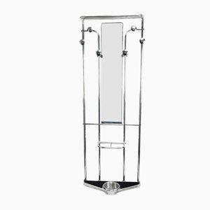 Art Deco Aluminum Coat Stand