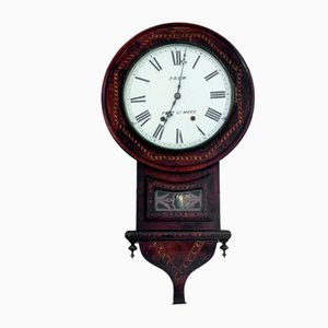 Antique Wall Clock, Northern Europe, Late 19th Century