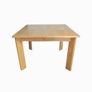Ash Wood Table, 1970s