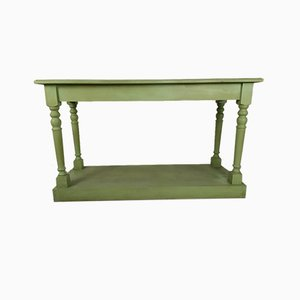 Green Console Table