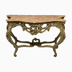 Louis XV Style Console Tables, Set of 2