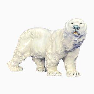 Art Nouveau Polar Bear from Meissen