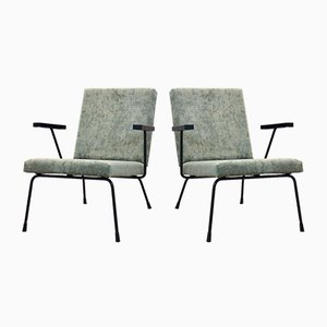 No. 1407 Lounge Chairs by Wim Rietveld for Gispen, Set of 2