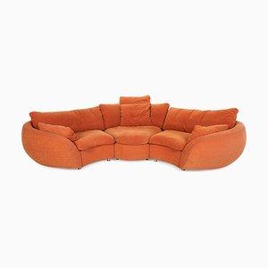 Orange Sofa from Rolf Benz
