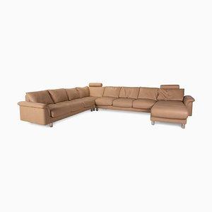 Model E300 Beige Leather Corner Sofa from Stressless