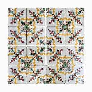 Antique French Ceramic Tile by Devres, 1920s