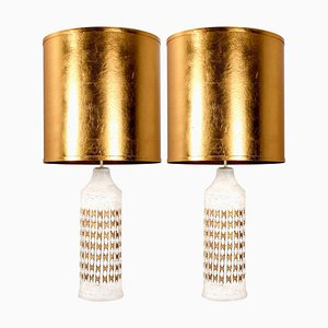 Table Lamps with Custom Shades from Bitossi, Set of 2