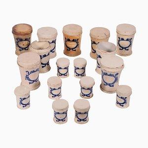 Majolica Ceramic Jars