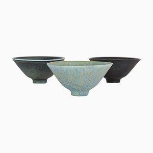 Mid-Century Modern Bowls by Carl-Harry Stålhane for Rörstrand, Sweden, Set of 3