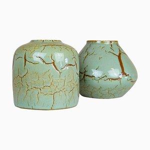 Mid-Century Modern Ceramic Pieces by Carl-Harry Stålhane for Rörstrand, Sweden, Set of 2