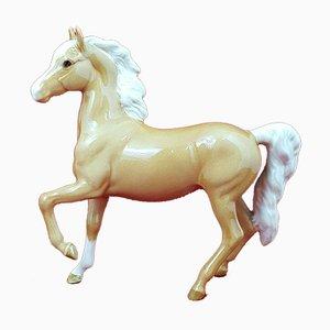 Model 1261 5160 BSK Prancing Arab Palomino Horse from Beswick