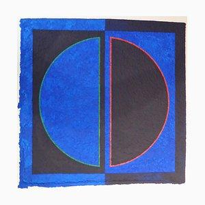 Untitled Blue by Romano Zanotti
