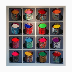 16 Paint Pots by Stéphane Braud
