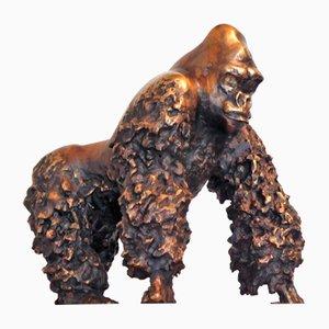 Bronze Gorilla by Jean-No