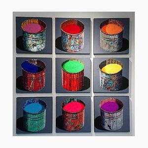 9 Paint Pots by Stéphane Braud