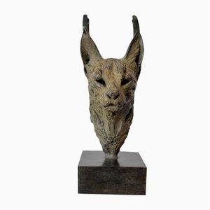 Caracal Head III by Isabelle Carabantes