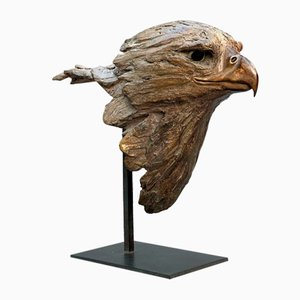 Eagle Head by Isabelle Carabantes