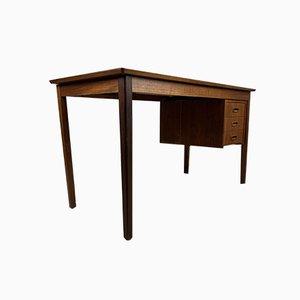 Vintage Scandinavian Double-Sided Desk in Teak, 1960s