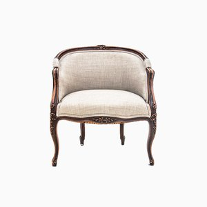 French Bergere Armchair, 1900s