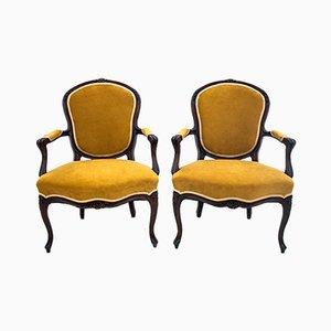 Antique Armchairs, 1900s, Set of 2