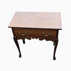 Oak Side Table, 1880s