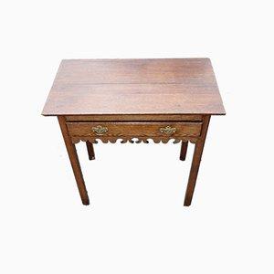 Oak Side Table, 1890s