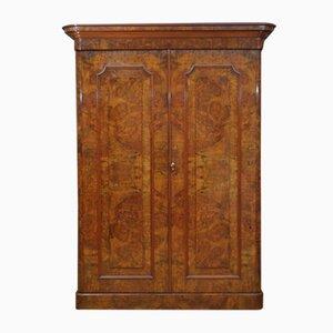 Victorian Walnut Wardrobe