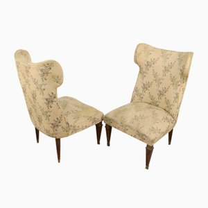 Armchairs, Italy, 1950s, Set of 2