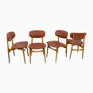 Chairs from Fratelli Reguitti, Italy, 1950s, Set of 4