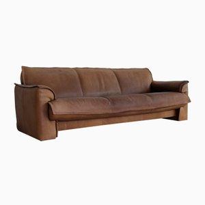 Vintage Buffalo Neck Leather Sofa from Leolux