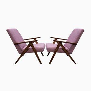 Mid-Century Pink Tweed Model B - 310 VAR Armchair, 1960