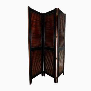 Room Divider in Lime Wood, 1980s