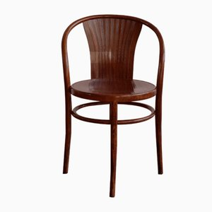 Vintage Wooden Chair from Fischel Czechoslovakia, 1920s