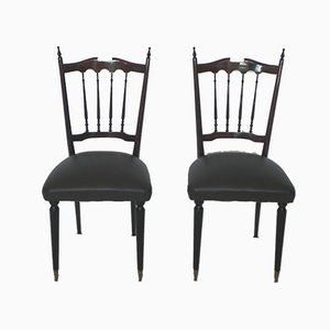 Chiavari Chairs, 1960s, Set of 2