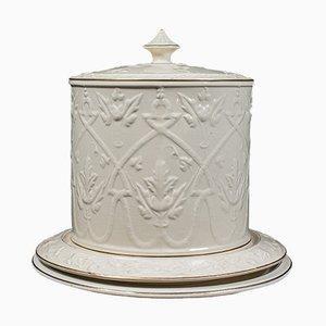 Antique English Ceramic Stilton Dome