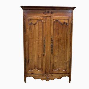 Rustic Cherry Wardrobe, 19th Century