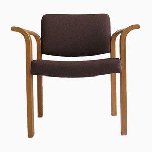 Danish Bentwood Easy Chair, 1970s