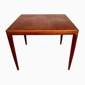 Danish Teak Side Table by H.W. Klein for Bramin, 1960s