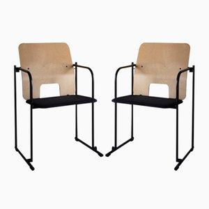 Chairs by Yrjö Kukkapuro for Avarte, Finland, 1990s, Set of 2
