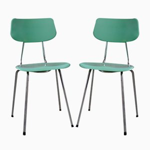 Modernist Fiberglass Chairs, Set of 2