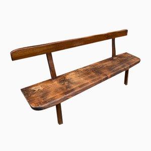 Scandinavian Dining Table, Benches & Sideboard by Olavi Hänninen for Mikko Nupponen, 1950s, Set of 4