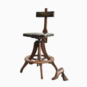 Antique Draughtsman Chair by R Tyzack