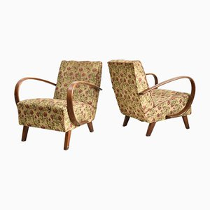 Armchairs from Jindrich Halabala, Set of 2