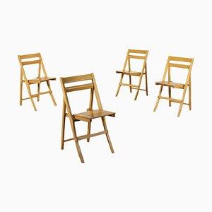 Folding Chairs from Zanotta, Set of 4