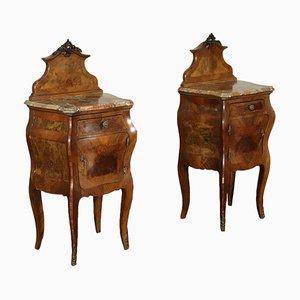 Baroque Nightstands, Set of 2