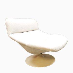 Vintage Dutch F518 Swivel Chair by Geoffrey Harcourt for Artifort