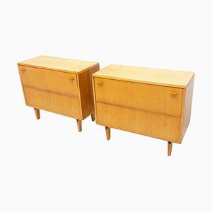 Vintage Dressers by Frantisek Mezuláník for New Home, 1970s, Set of 2