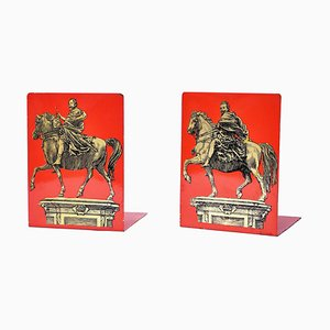 Vintage Bookends by Piero Fornasetti, 1950s