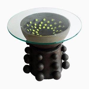 Sculptural Fibrobla Table by Ia Kutateladze