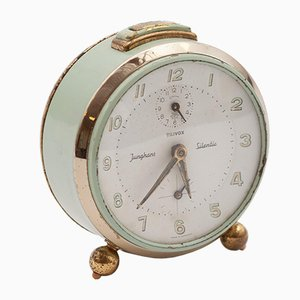 Mechanical Alarm Clock from Junghans, 1950s